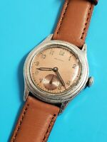 Vintage WWII WELSBRO Military Mens Manual Mechanical watch in Working condition