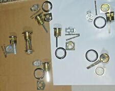 """7 Mortise Cylinder Ic 26D 1 1/4"""" Solid Brass Parts Nos"""