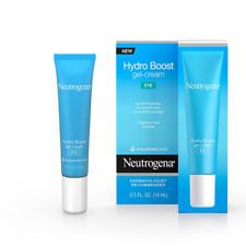 Neutrogena Hydro Boost Eye Gel-Cream w/ Hyaluronic Acid TWO- PACKS  of .5 fl. oz