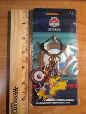 PIKACHU Pirate KEYCHAIN Pokemon WORLD CHAMPIONSHIPS Boston 2015 PLAY! Ring Hook