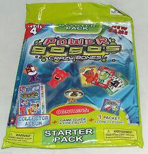 GOGOS CRAZY BONES - SERIES 4 - STARTER PACK - ALBUM, 2 GOGOS, 2 CARDS - BNIP