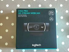 Logitech C922 Pro Stream Webcam HD 1080p/30fps 720p/60fps TRIPOD C910 C920 C930