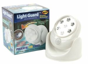 MOTION ACTIVATING LED SECURITY LIGHT MULTI POSITION