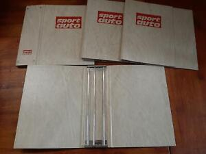 7 x Sammelmappen Sport Auto - 84 Hefte bzw. 7 Jahrgänge (Stäbchen)