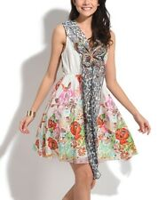 Size 10 Sleeveless Dress Cotton -126