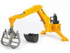Bruder Heckbagger Bagger 02301 / 02338 NEU passend für Traktor Unimog