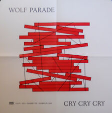 WOLF PARADE, CRY CRY CRY POSTER (D9)