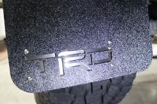 Set of Rear TRD Mud Flaps Splash Guard 2 Piece for Toyota Tacoma 2005-2015 BLACK