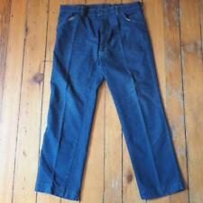 Vintage Mens Denim Jeans 1970's 36x30