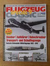 Flugzeug Classic Special Nr. 9 mit über 240 Farbzeichnungen und Fotos!