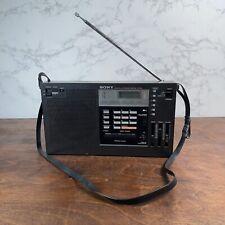 SONY ICF-2001  FM/MW PLL Synthesized Receiver
