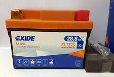 Exide Lithium Li-Ion Motorcycle Battery ELTZ7S 28.8Wh 150A 12V (YTZ7S, YTX7L-BS)