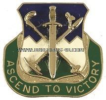 ARMY 172 INFANTRY REGIMENT UNIT CREST