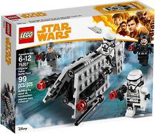2018 LEGO STAR WARS IMPERIAL PATROL BATTLE PACK 75207, NIB, RETIRED, GREAT GIFT!