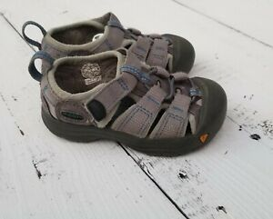 KEEN Kids Toddler Boys Size 6 Gray Walking Shoes Sandals Sneakers