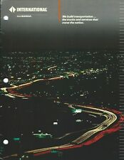 Truck Brochure - International - Company Capabilities Overview (T2594)