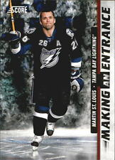 2011-12 Score Making An Entrance #7 Martin St. Louis Lightning