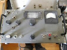 Military Vintage  Frequency Selective Field Strength meter (See Description)