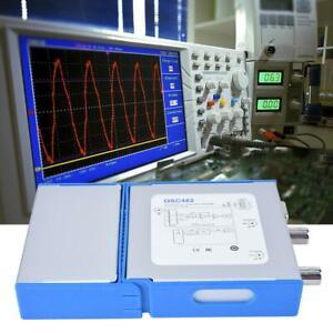 OSC482L USB PC Virtual Oscilloscope FFT Spectrum Analyzer Logic Analyzer Kit
