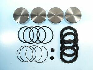 316 Stainless Steel Front Caliper Piston Kit w/ Seals Fits Austin Healey 3000
