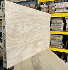 "White Limba Korina Thin-line 3pc 22"" x 15 "" x 1.5"" Kiln Dried sanded Bass 🎸"