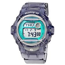 Casio Grey Transparent Resin Ladies Watch BG169R-8B