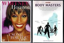 Whitney Houston: A Song for You Live (DVD) & Fytek Body Masters - 2 DVDs