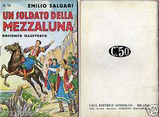 emilio salgari racconti illustrati racconti avventure # 78 rare 1° edition 1936