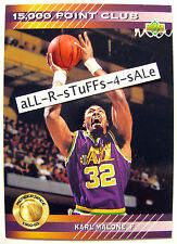 1992-93 Upper Deck KARL MALONE Mailman 15,000 Point Club HOF Utah Jazz #PC16