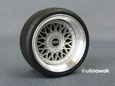 99021-15 llantas de aluminio 1:18 BBS rm Design 15 pulgadas PSF incl. logo