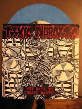 "TOXIC WASTE ""NEW WAYS TO CREATE WASTE"" - 7"" SINGLE BLUE"