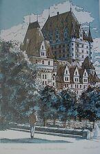 Robert Beaulieu Canadian Art Print Serigraph Pencil Sign Titled 1975 List 00827