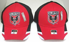 MLS D.C. United Multi-Color Structured Fitted Hat By adidas