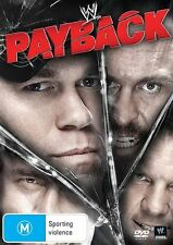 WWE - Payback (DVD, 2013) - Region 4