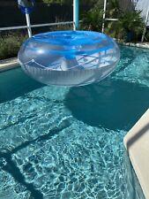 Rare 12ft X 2..5ft Bestway Inflatable Island Tube Raft Pool Float