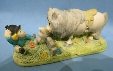 "RARE VINTAGE BESWICK THELWELL ""GOOD MANNERS"" 1987 HAND PAINTED FIGURINE"