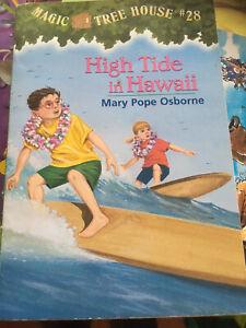 Magic Tree House : #28 High Tide, Osborne Pb book