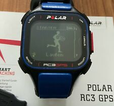 Rc3 GPS polar rcx3 GPS * Azul * Blue con soporte de bicicleta buen estado
