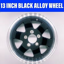 13 INCH KOYA BLACK ALLOY WHEEL HT HOLDEN