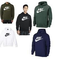 Nike Men's Pullover Hoodie Premium Fleece Graphic Logo Active Athletic Wear