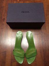Mules sandales Vert PRADA shoes - T. 38,5