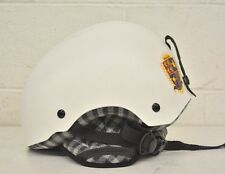 Boeri Roller High-Quality Matte White Ski/Snowboard Helmet Small 52-53cm NEW