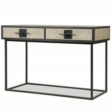 LIANG & EIMIL NOMA 9 DRESSING TABLE / DESK IN BEIGE LEATHER FREE🚚SHIPPING