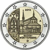 IN STOCK - GERMANY 2 Euro 2013 commemorative coin - Baden-Württemberg - one coin