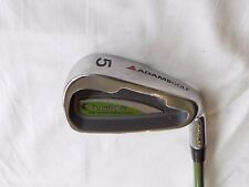 Mesdames Adams Ovation 5 Fer ALDILA Femmes Flex Graphite Shaft Winn Grip