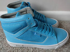 Lacoste Vaultstar CE ladies mid boots turquoise uk 4 eu 37 us 6 new.