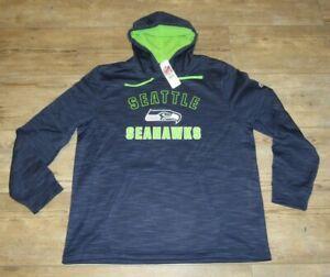 Seattle Seahawks NFL Team Therma TX3 Warm Hoodie Jacket Size Men's Large
