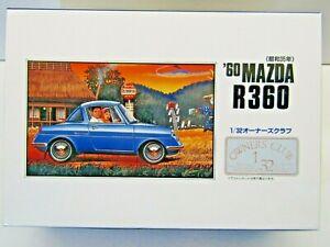 ARII 1:32 Scale 1960 Mazda R360 Coupe Model Kit - New - Kit # 41015-600