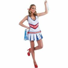 Authentic Playboy 1x 2x Cheerleader Playmate Costume Cheer Plus Size Sexy