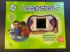 Pink LeapFrog Leapster 2 Learning System w/6 games + Princess & Frog Bratz World